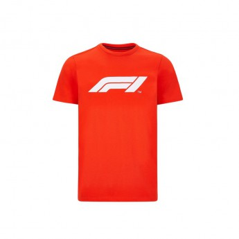 Formuła 1 koszulka męska logo red 2020