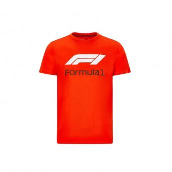 Formuła 1 koszulka męska No. 1 red 2020