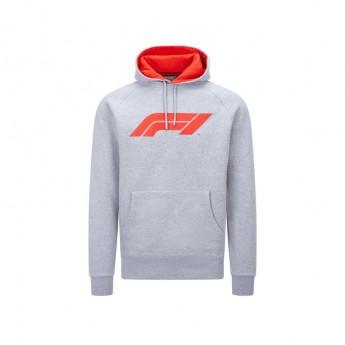 Formuła 1 męska bluza z kapturem logo grey 2020