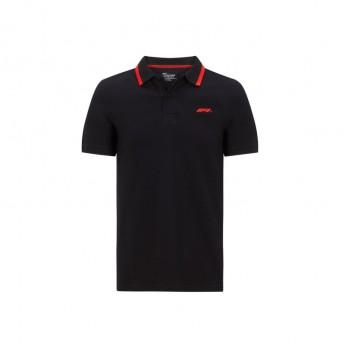 Formuła 1 męska koszulka polo black Logo 2020