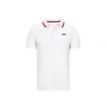 Formuła 1 męska koszulka polo white Logo 2020