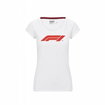 Formuła 1 koszulka damska logo white 2020