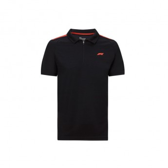 Formuła 1 męska koszulka polo Tech black 2020