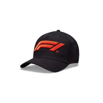 Formuła 1 czapka baseballówka logo black 2020