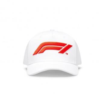 Formuła 1 czapka baseballówka logo white 2020