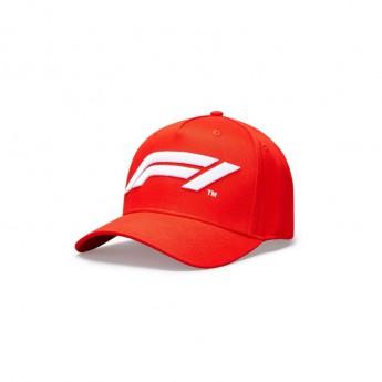 Formuła 1 czapka baseballówka logo red 2020