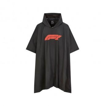 Formuła 1 Damska kurtka Poncho black 2020