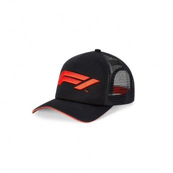 Formuła 1 czapka baseballówka Trucker black 2020