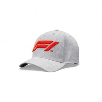 Formuła 1 czapka baseballówka logo grey 2020