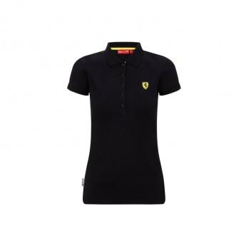 Ferrari damska koszulka polo Classic black F1 Team 2020