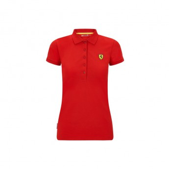 Ferrari damska koszulka polo Classic red F1 Team 2020