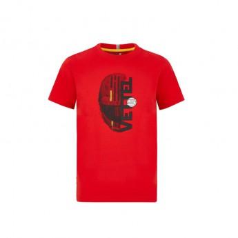 Ferrari koszulka dziecięca Vettel driver red F1 Team 2020