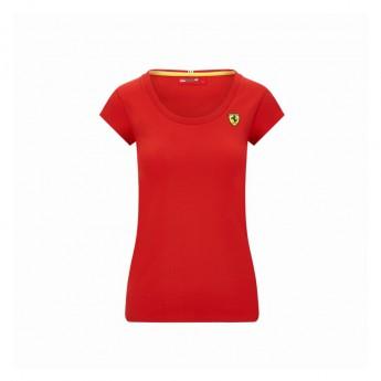 Ferrari koszulka damska Shield red F1 Team 2020