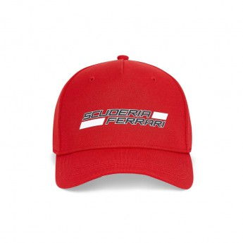 Ferrari dziecięca czapka baseballowa logo red F1 Team 2020