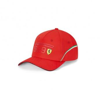 Ferrari czapka baseballówka Detail red F1 Team 2020