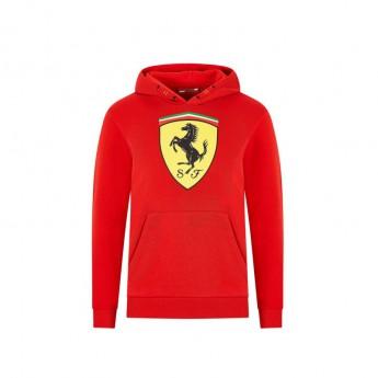 Ferrari dziecięca bluza z kapturem logo red F1 Team 2020