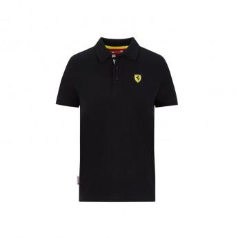 Ferrari dziecięca koszulka polo Classic black F1 Team 2020