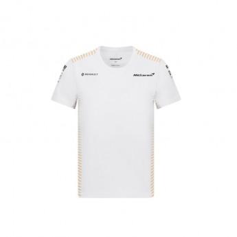 McLaren Honda koszulka dziecięca white F1 Team 2020