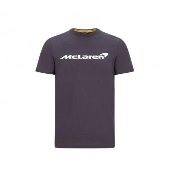 McLaren Honda koszulka męska Essentials grey antracit F1 Team 2020