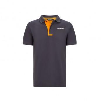 McLaren Honda męska koszulka polo Essentials grey antracit F1 Team 2020