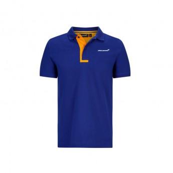 McLaren Honda męska koszulka polo Essentials blue F1 Team 2020
