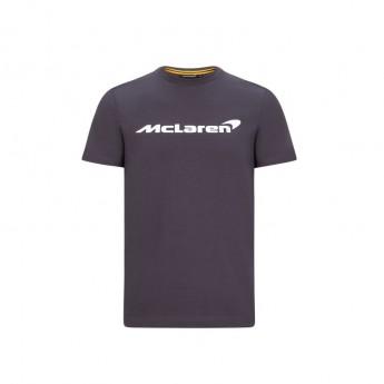 McLaren Honda koszulka dziecięca Essentials grey antracit F1 Team 2020