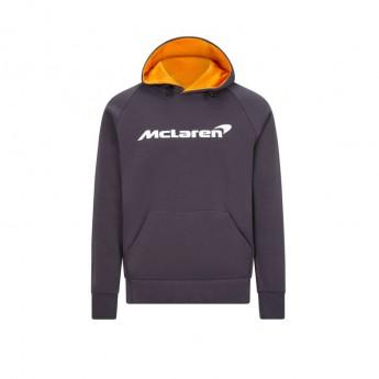 McLaren Honda męska bluza z kapturem Essentials grey antracit F1 Team 2020