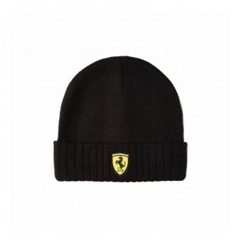 Ferrari czapka zimowa logo beanie Black F1 Team 2020