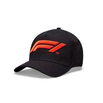 Formuła 1 dziecięca czapka baseballowa logo black 2020