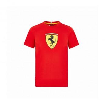 Ferrari koszulka dziecięca logo shield red F1 Team 2020