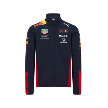 Red Bull Racing Dziecięca kurtka teamwear softshell navy F1 Team 2020