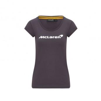 McLaren Honda koszulka damska Essentials grey F1 Team 2020