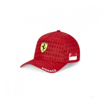 Ferrari czapka baseballówka Monaco red F1 Team 2020