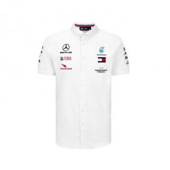Mercedes AMG Petronas koszula męska white F1 Team 2020