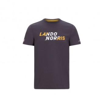 McLaren Honda koszulka męska Lando Graphic Antracit F1 Team 2020