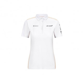 McLaren Honda damska koszulka polo white F1 Team 2020