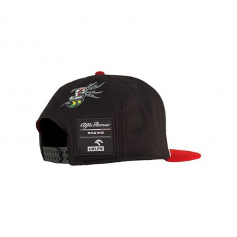 Alfa Romeo Racing czapka flat baseballówka Giovinazzi brim redblack F1 Team 2020