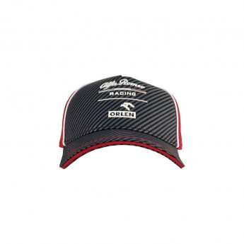 Alfa Romeo Racing dziecięca czapka baseballowa Redblack F1 Team 2020