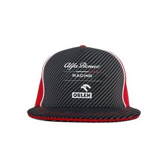 Alfa Romeo Racing czapka flat baseballówka brim redblack F1 Team 2020