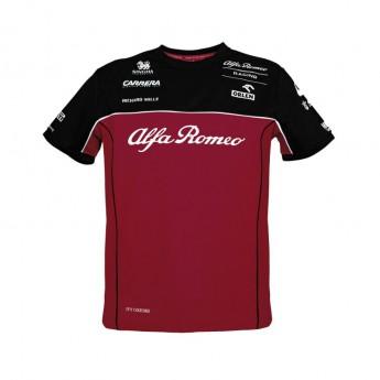 Alfa Romeo Racing koszulka męska Red F1 Team 2020