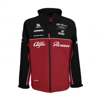 Alfa Romeo Racing kurtka męska Softshell Red F1 Team 2020