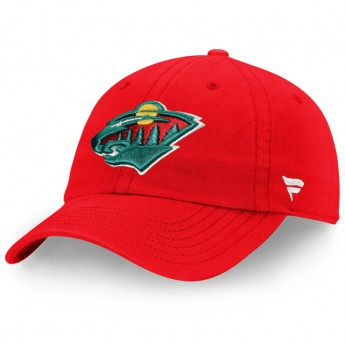 Minnesota Wild dziecięca czapka baseballowa Core Fundamental Adjustable Hat