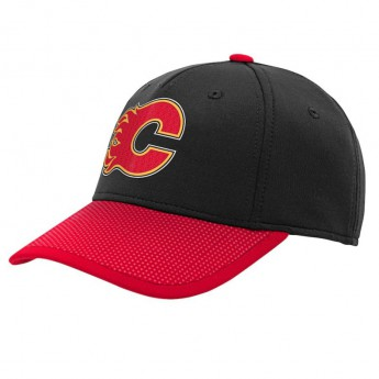 Calgary Flames dziecięca czapka baseballowa 2019 NHL Draft - Authentic Flex Hat