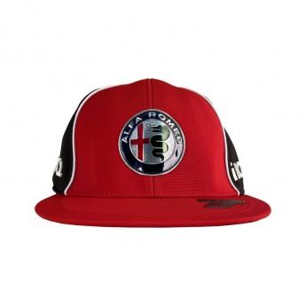 Alfa Romeo Racing czapka flat baseballówka Kimi red F1 Team 2020