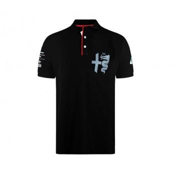 Alfa Romeo Racing męska koszulka polo Silver Tribute black F1 Team 2020