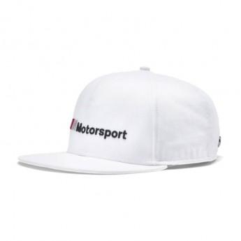 BMW Motorsport czapka flat baseballówka M White Cap 2020