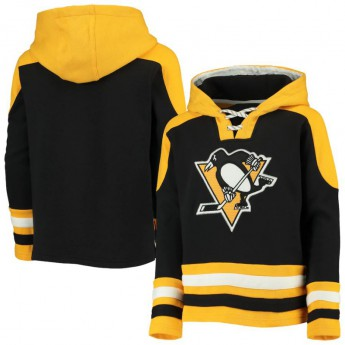 Pittsburgh Penguins dziecięca bluza z kapturem Lace-Up Pullover Hoodie