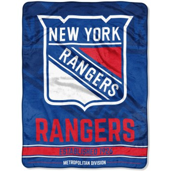 New York Rangers koc Micro Raschel Throw