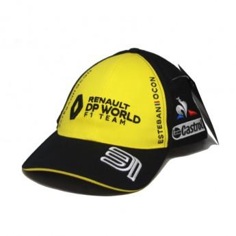 Renault F1 dziecięca czapka baseballowa Ocon black F1 Team 2020