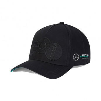 Mercedes AMG Petronas czapka baseballówka badge black F1 Team 2020